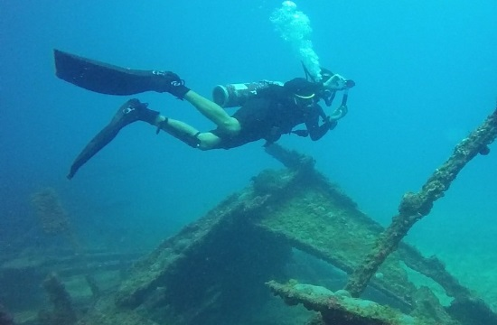 Historic shipwrecks become 'Underwater Museums' across Greece