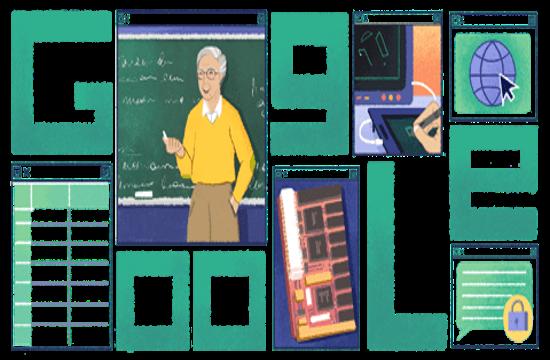 Google Doodle honours Greek scientist who predicted Internet impact