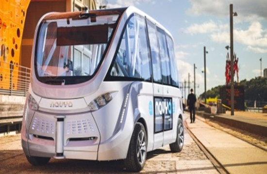Driverless bus first used in Greece's Trikala now on Lyons streets (video)