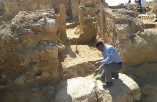 Roman-Era Temple and painting bearing Greek Inscriptions unveiled in Egypt