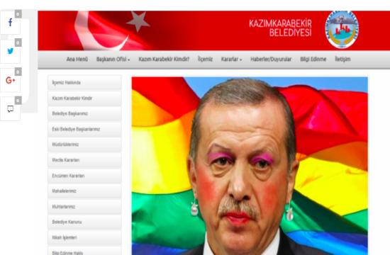 'Anonymous Greece' claims responsibility for hacking Turkish president Erdogan's website