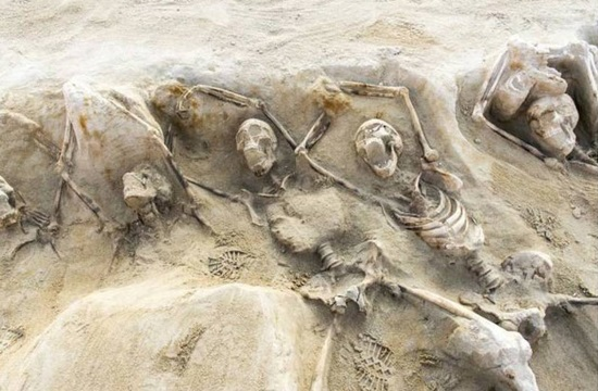 Shackled skeletons at ancient Athens cemetery puzzle archaeologists