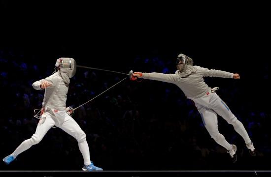 US men's fencing team nabs historic bronze medal