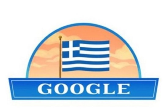 Today's Google Doodle honors the Greek Revolution of March 25th, 1821 (video)