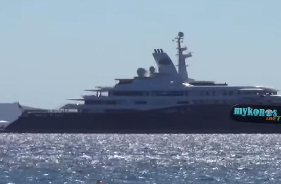 Qatar Sheikh $300 million super-yacht arrives in Mykonos (video+photos)