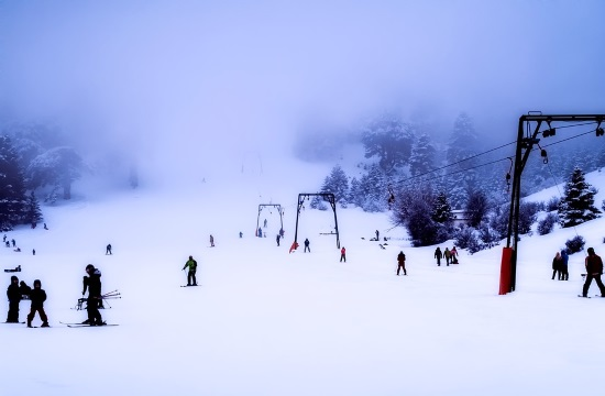 Winter Tourism: Ski slopes fully operational and accessible in Greece