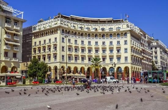 Thessaloniki's historic Aristotelous Square