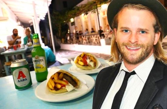 Greek gyros among World's 15 Best Drunk Foods
