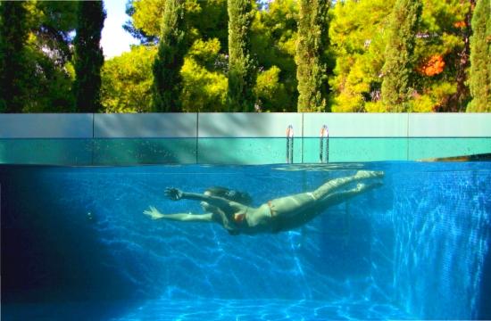 Most Beautiful Backyard Pools : The 8 most beautiful swimmingpools in Europe  one in Ekali suburb of