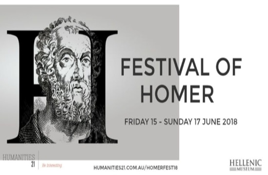 Festival of Homer 2018 coming to Melbourne on June 15-17