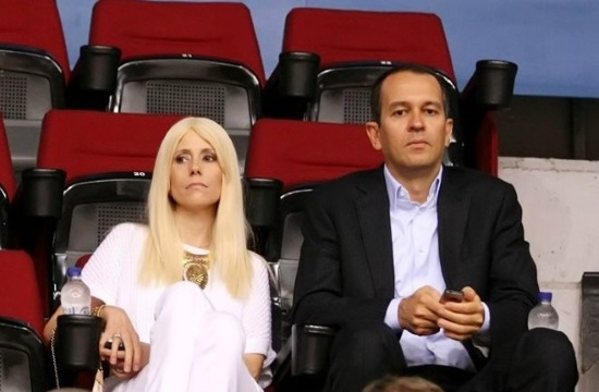 Wife of Olympiakos Basketball owner George Angelopoulos dies at 42