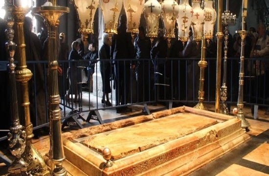 Jesus' burial place exposed for the first time in centuries