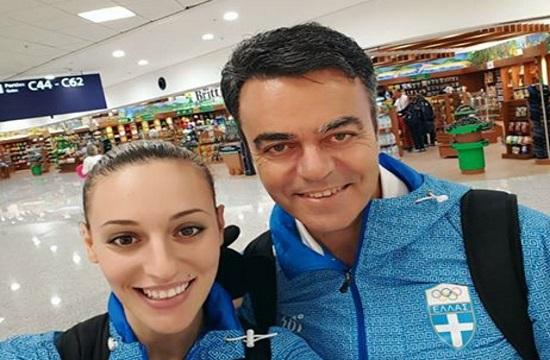 Greek shooting champion Korakaki sweeps up medals in Bologna World Cup