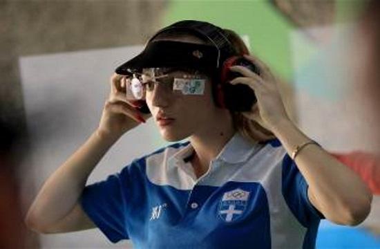 Korakaki wins first gold for Greece in 25m air pistol at Rio 2016 Olympics