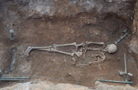 Unique intact Hellenistic tomb found in Kozani of northern Greece