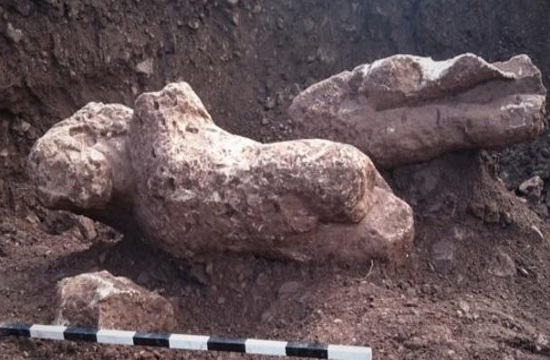 Archaeologists unearth stunning ancient statues by farmer planting olive trees in Greece