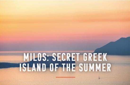 UK Conde Nast Traveller praises Greek island of Milos