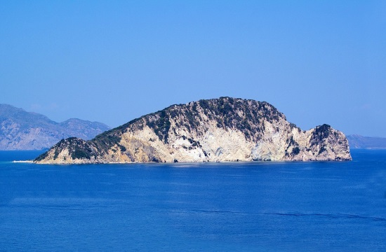Visiting wonderful 'Turtle Island' off Zakynthos in Greece
