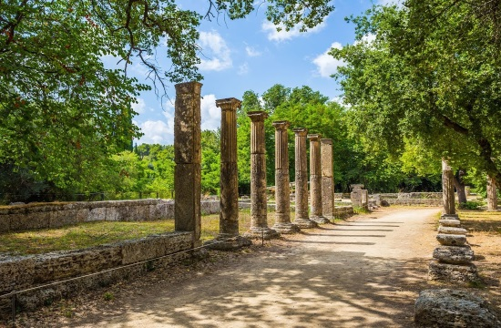 The eternal glow of the Land of Olympia in Western Greece