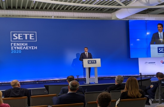 Greek PM at SETE Assembly: We will not hesitate to take support measures in July