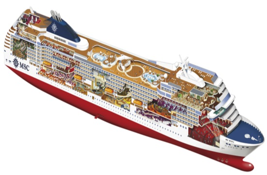Tornos News Greek Islands In East Med Msc Cruises