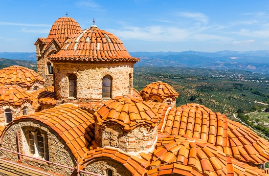 Greek Mystras among top 8 less known UNESCO world Heritage sites