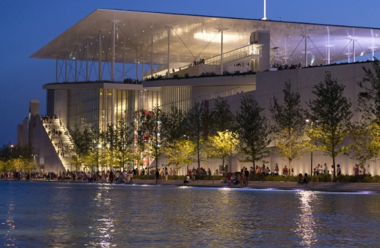 The SNFCC Christmas World comes to life in Athens during December