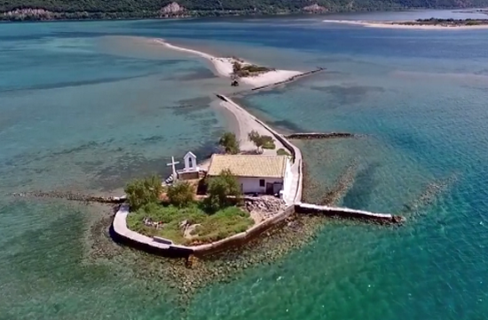 Report: Drone captures poet's heavenly Greek island (video)