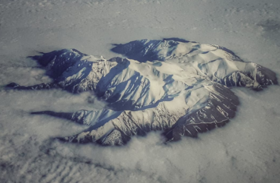 Spectacular photo of Greece's snow-covered Mount Olympus goes viral