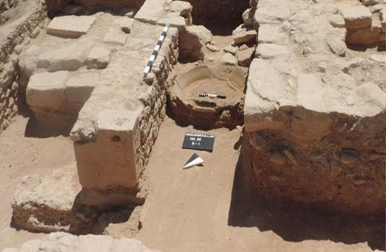 80-meter classical period wall found at Palaepaphos, Cyprus