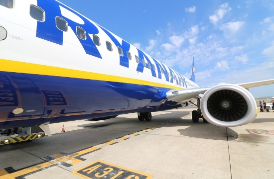 Irish low-cost carrier Ryanair reduces domestic Greek routes blaming airport fees