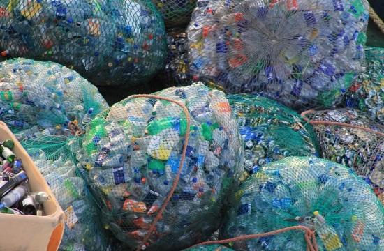 Τons of garbage collected from Greece's beaches and seabed by HELMEPA
