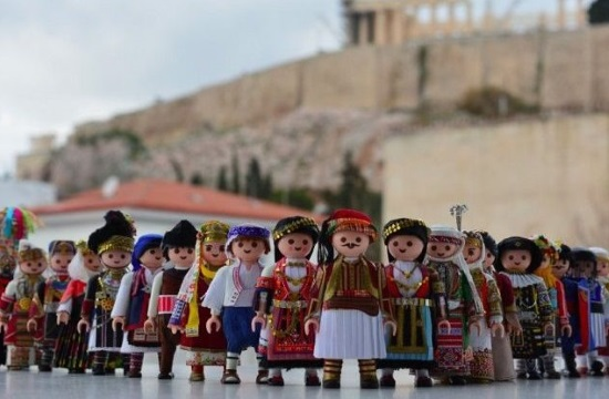 "Greek youngster creates new world with ""Playmogreek"" dolls"