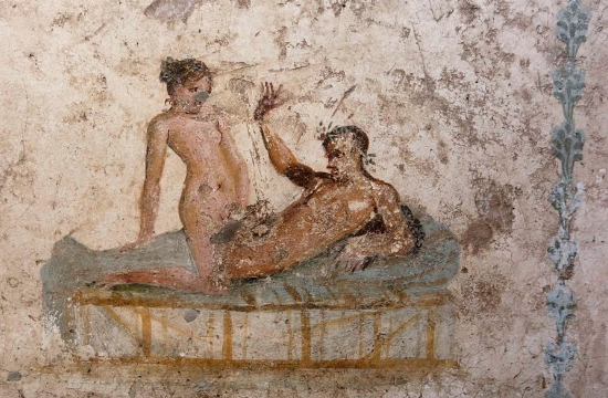 Pompeii's 2000-year-old pornographic frescoes turned into tourist attraction