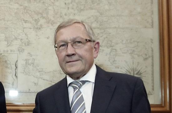 ESM chief: IMF role imperative for Greek program