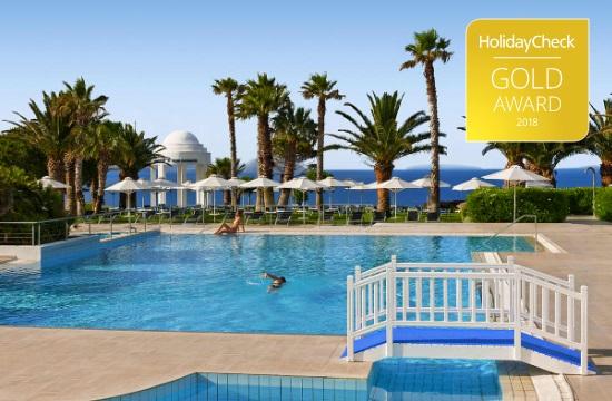 The 11 Greek hotels that won HolidayCheck gold awards 2018