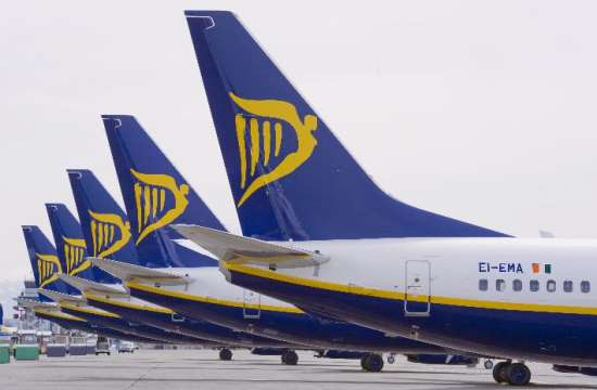 Ryanair: Five new routes from Athens in summer 2016