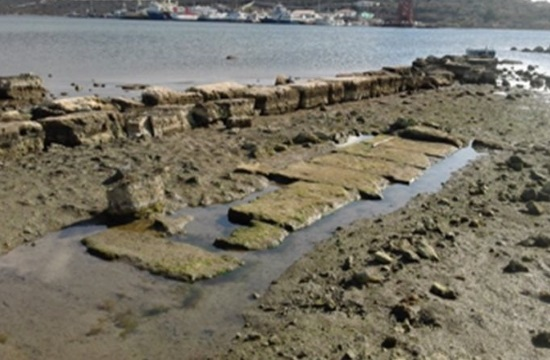 Athens News Agency tours ancient military harbour used in Battle of Salamis
