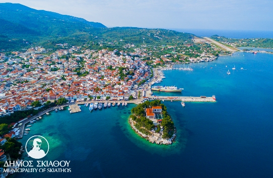 Skiathos island in Greece bans plastic bags this summer