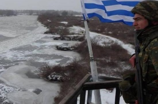 Tornos News | Greek soldier's photo at Greek-Turkish borders