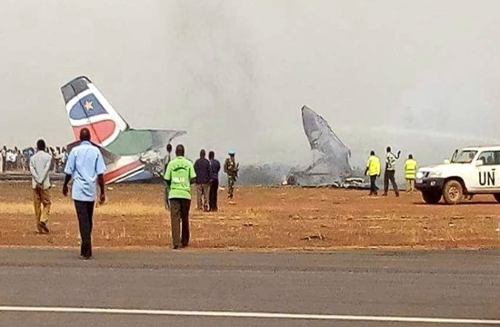 All safe in South Sudan plane crash at Wau airport