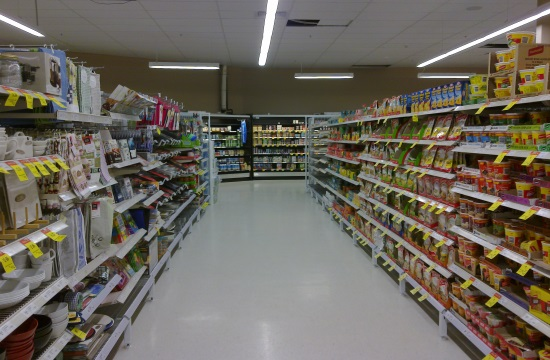 Greek super market turnover drops 6.5% while major chains post increases