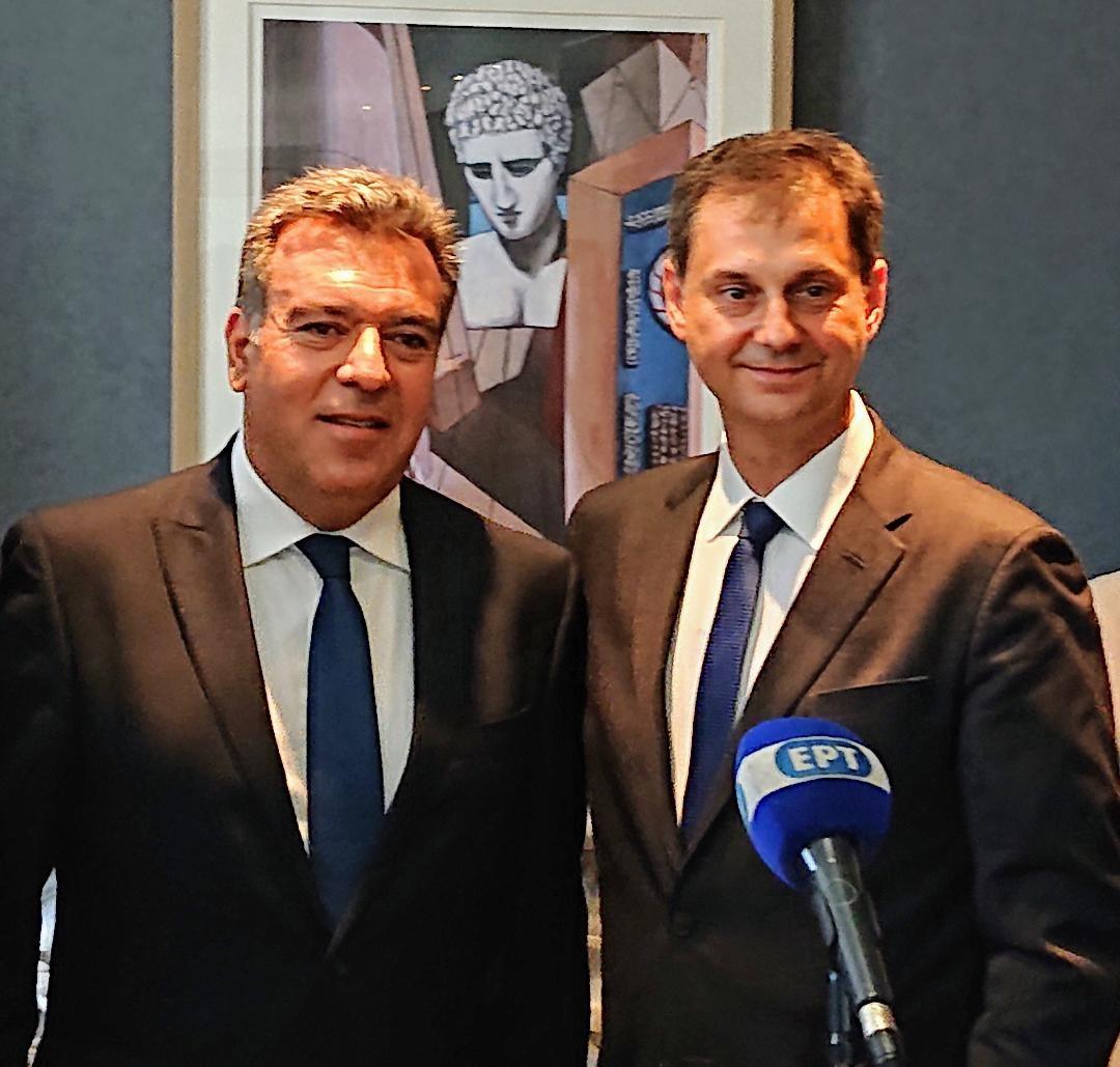 Greek Tourism Minister leadership on Kos island to welcome TUI flight