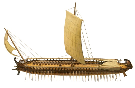 Hellenic Navy maintains reconstruction of ancient Athenian trireme