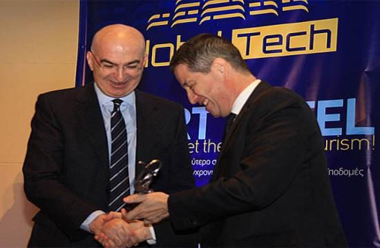 "Yiorgos Tsakiris' Kubic Athens Hotel distinguished as ""Smart Hotel of the Year"""