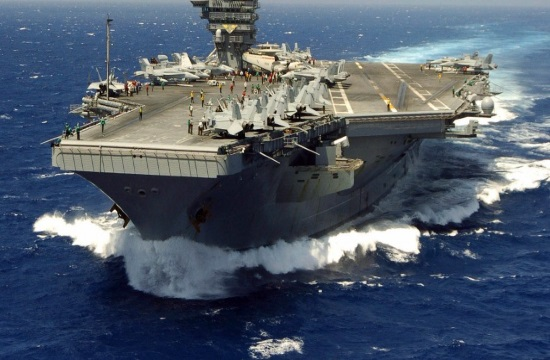 U.S. aircraft carrier in wrong direction for days after Trump threat to N.Korea