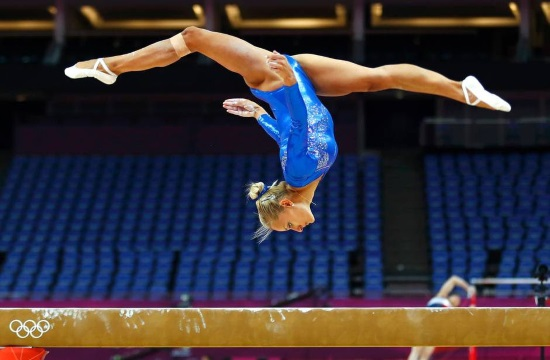 Vassiliki Millousi wins silver for Greece at Artistic Gymnastics World Cup