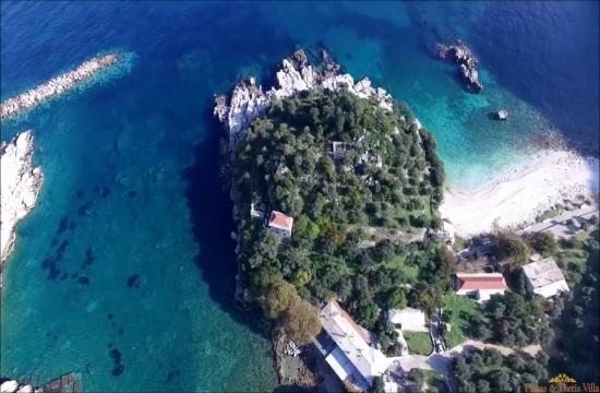 Impressive ancient mosaic stuns visitors in Greece's Pelion mountain