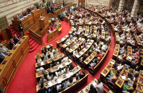 Greek government to present omnibus bill on pending landmark issues