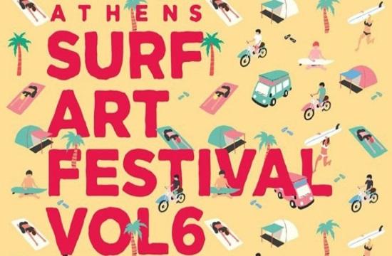 Surf Art Festival Vol. 6 returning to Athens suburb of Faliro on July 12-14